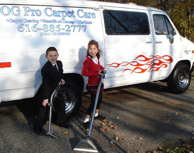 01 O G PRO CARPET CARE, carpet cleaning grand rapids